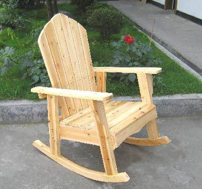 Adirondack Rocking Chair Plans G