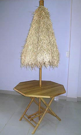 Palapa Umbrella Table Amp Chairs Set