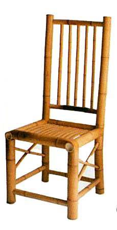 TBC-38 Tiki bamboo chair BC-36 in natural color BAC-36 Knock down arm chair