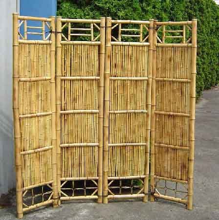 all bamboo screen divider