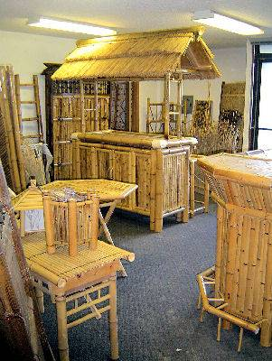 Bamboo Furniture Our Bamboo Showroom At Auburn WA