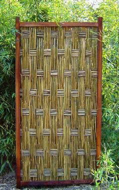 & Bamboo Door