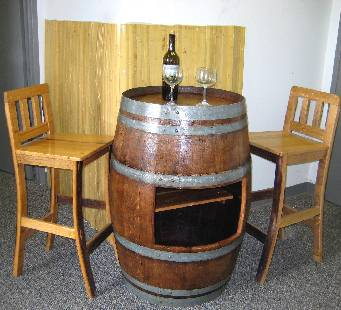 Table Sht 48 On Wbt 35 Base Wbc 38 Stools Barrel With Shelf Bar Wbs 18 Sold Separately