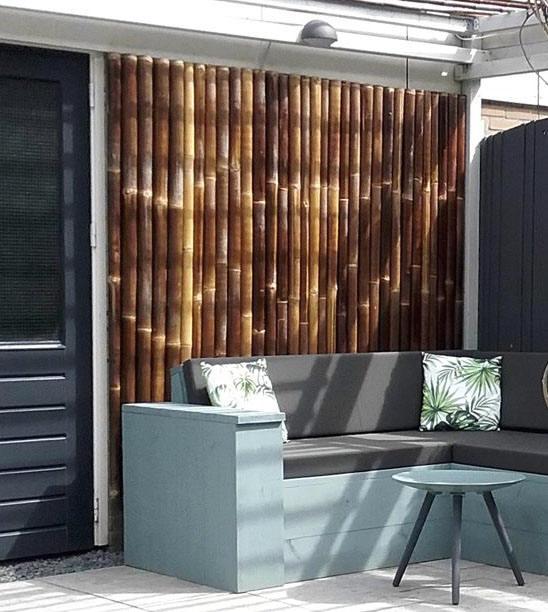 MGP Natural Black Timber Bamboo Pole 4D x 72L
