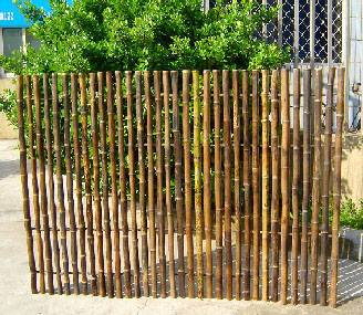 Exellent Bamboo Fencing For Design