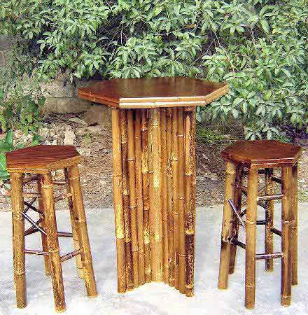 Bamboo Bar Amp Bistro Table