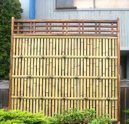 Board on board fence 6 x 6 colonial bamboo fence panel after installation workwithnaturefo