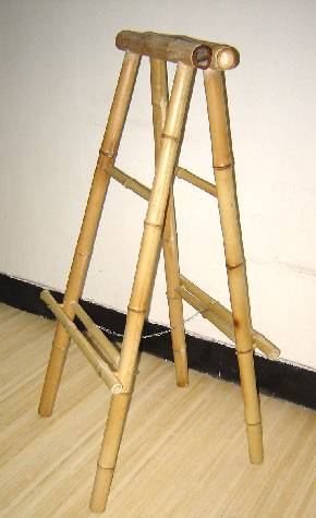 2 sided bamboo sign stand