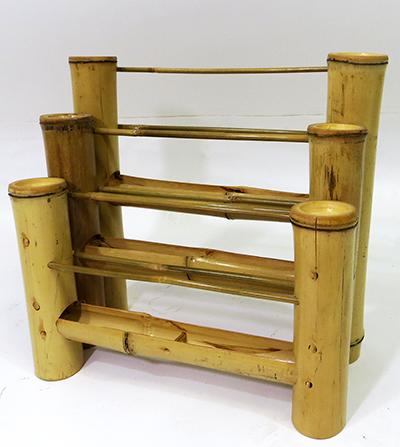 bamboo countertop brochure rack