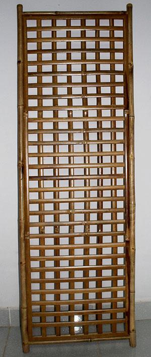 Bamboo Slat Gridwall
