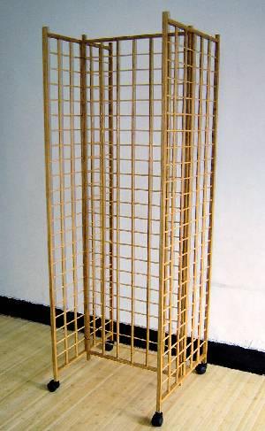 Engineered Bamboo Gridwall Panel