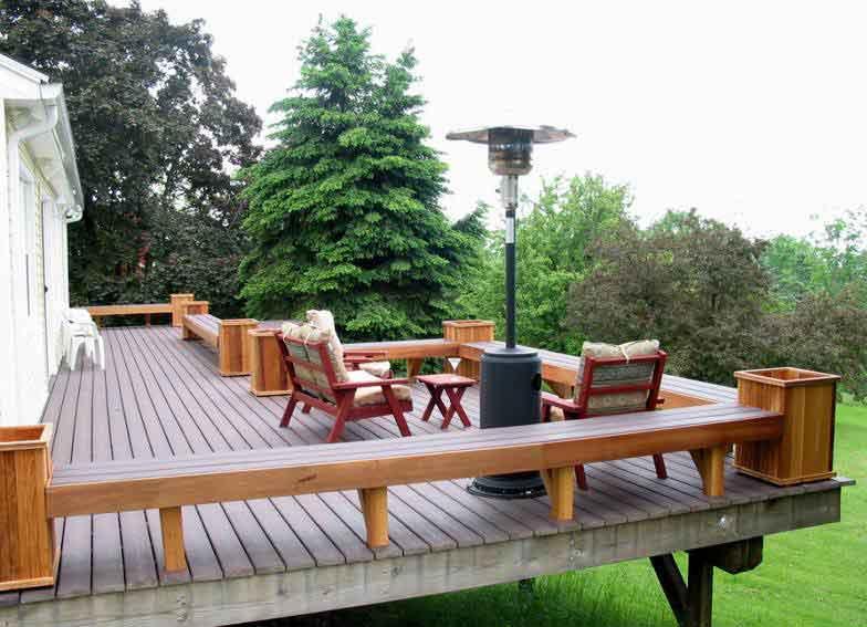 Villa Cedar Wood Planter