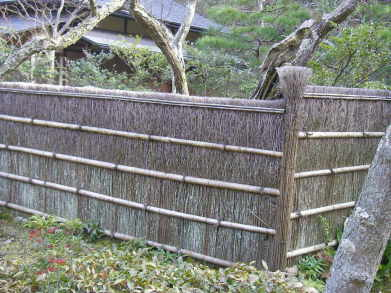 Heather Brushwood Fence