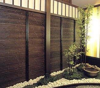 Outdoor deck privacy screens for Horizontal garden screening