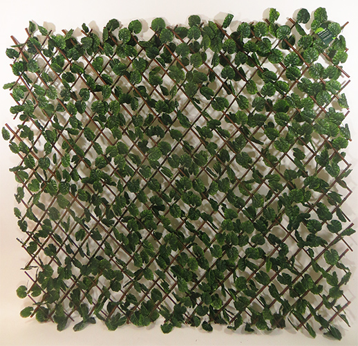 Faux Ivy Trellis Screen