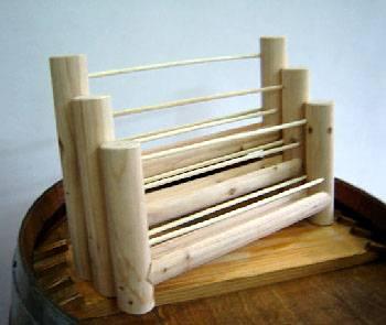 Wooden Brochure Stand Me88 Advancedmassagebysara