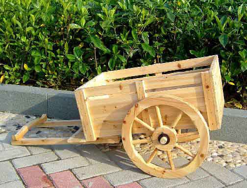 WGP 36 Garden Accent Wagon Planter
