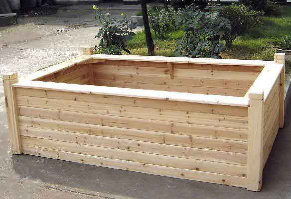 Cedar Seating Raised Bed Regular Raised Bed
