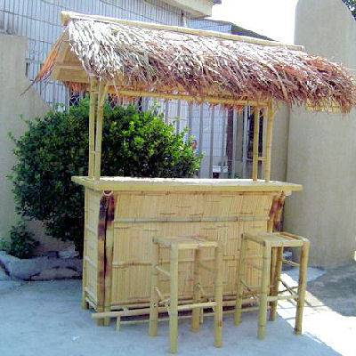how to make an indoor thatch roof for kids