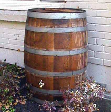 Rain barrel for Master garden products