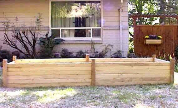 bed garden cedar raised beds for chicago boards