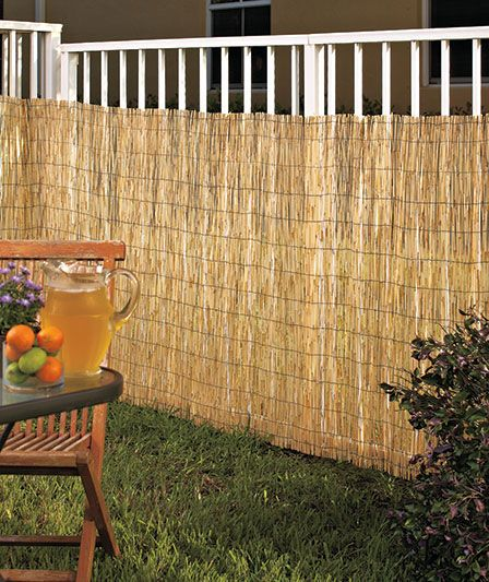 decor split bamboo fencing outdoor decorations.htm reed fence  reed fence