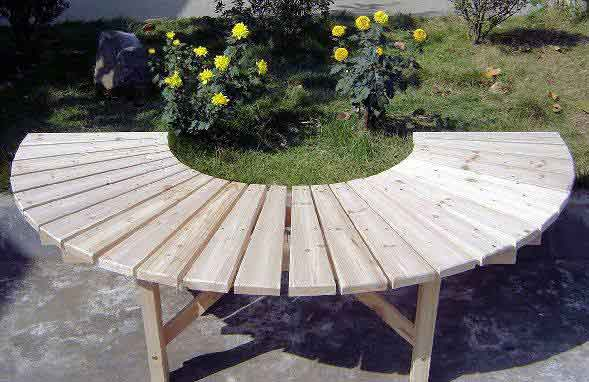 Woodworking class my wordpress blog part 12 Circular tree bench