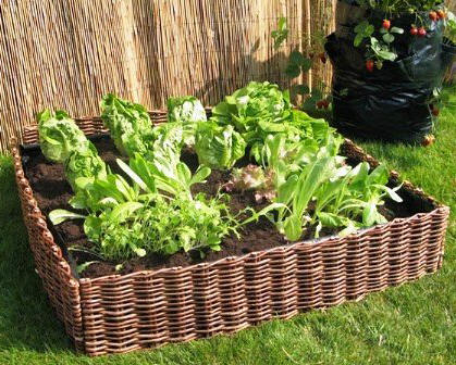 Willow Raised Garden Bed, Master Garden Products