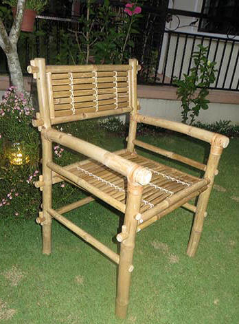 Solid Bamboo Knock Down Arm Chair BC 48A Solid Bamboo Arm Chair BC 46S