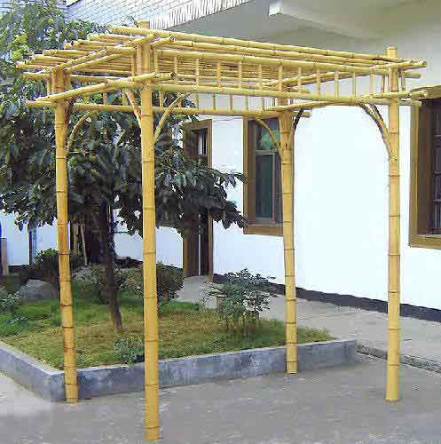 bamboo pergolas. Black Bedroom Furniture Sets. Home Design Ideas