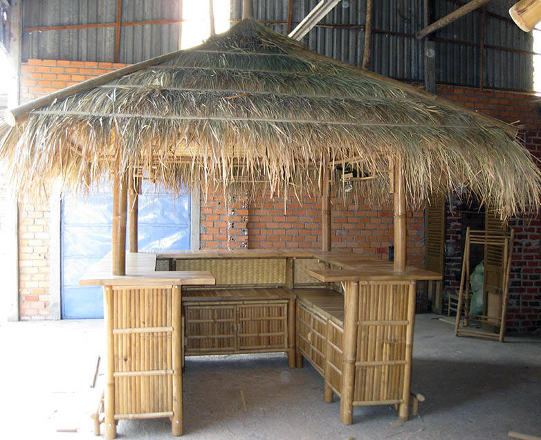 Bamboo Tahiti Bar Hut