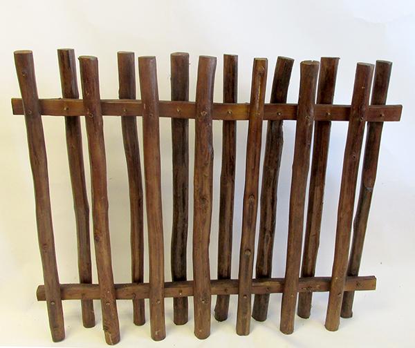 Teak Wood Picket Fence