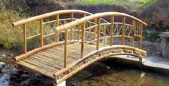 Lovely High Posts Bamboo Bridge Traditional No Rail Asian Bamboo Garden Footbridge.  4u0027, 5u0027, 6u0027, 8u0027, And 10u0027 Bridges. 4u0027, 5u0027, 6u0027, 8u0027,in Length