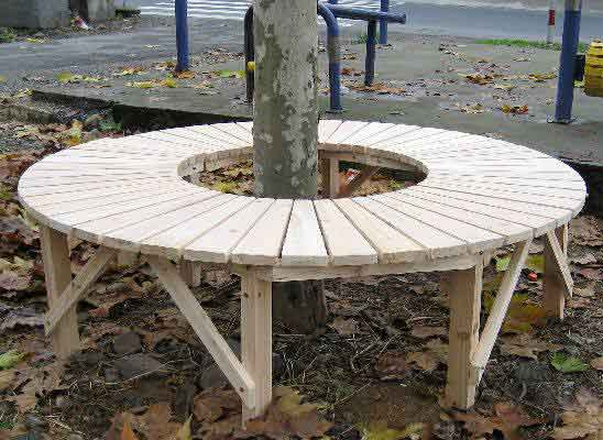Plans for wood lamp circular wood tree bench lowes kids woodworking projects simple go kart plans Circular tree bench