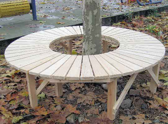 Sensational Circular Tree Bench Pdpeps Interior Chair Design Pdpepsorg