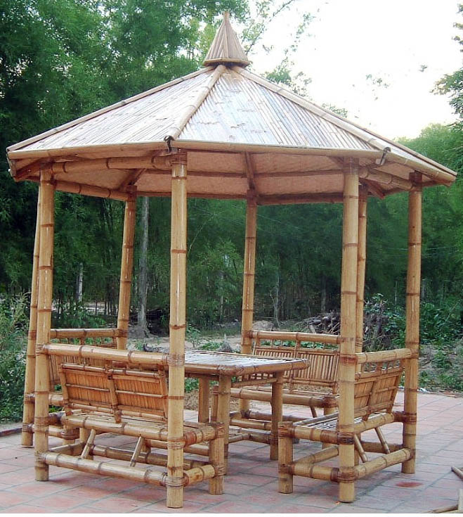 Bamboo Gazebo Amp Hut