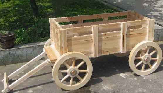 Attractive WGP 48 Garden Accent Wagon Planter