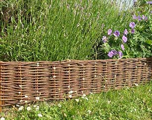 WE 47 6 Extra Long Woven Style Edging, 6u0027 Long WE 47 Set Up In The Garden,  ...