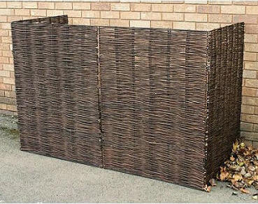 Willow Garbage Can Enclosure