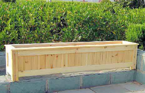 Garden Design: Garden Design With Designer Wood Planter Boxes
