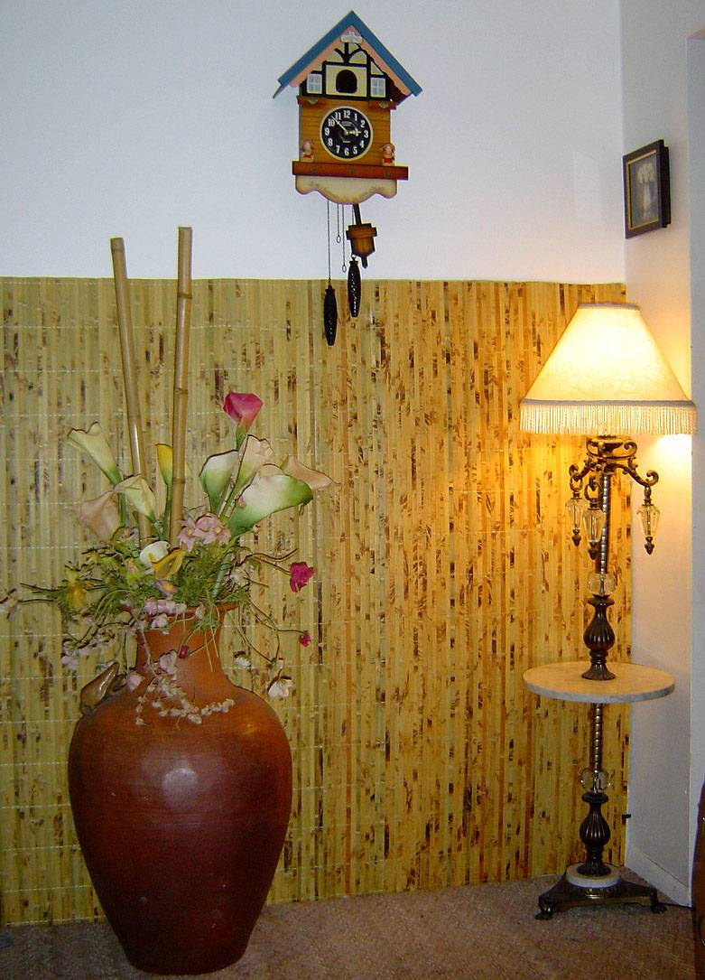 Bamboo wallpaper. Hanging our bamboo wall cover is very similar to hanging ...
